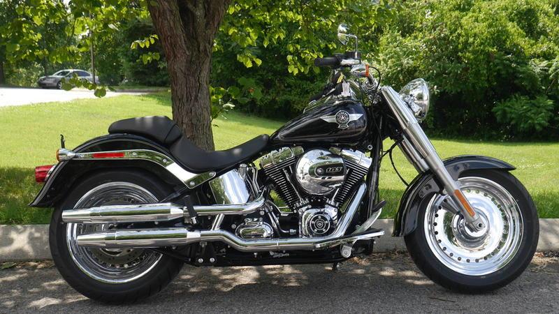 Pre-Owned 2017 Harley-Davidson Softail Fat Boy