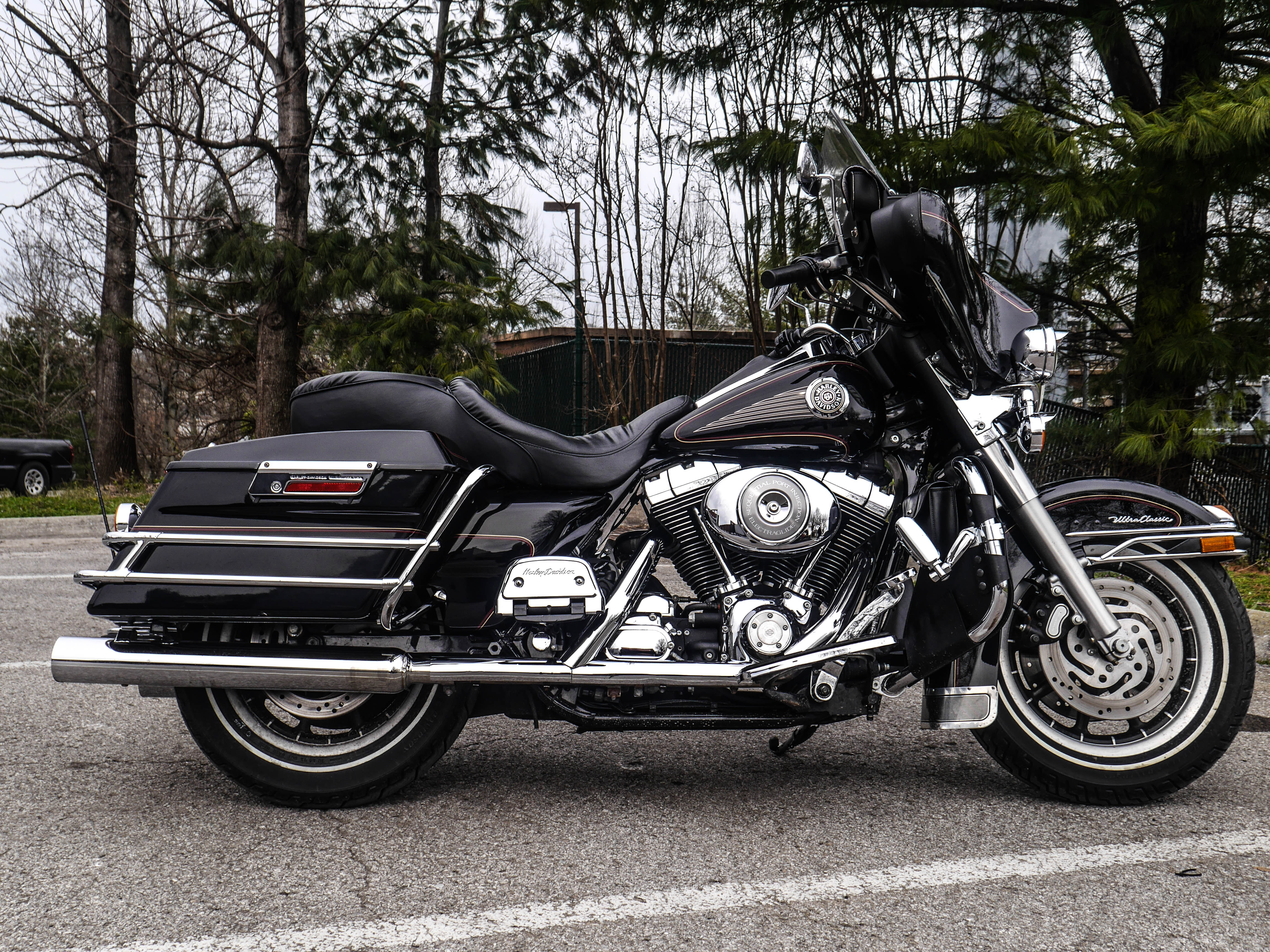 Classic Harley Davidson >> Pre Owned 2000 Harley Davidson Ultra Classic