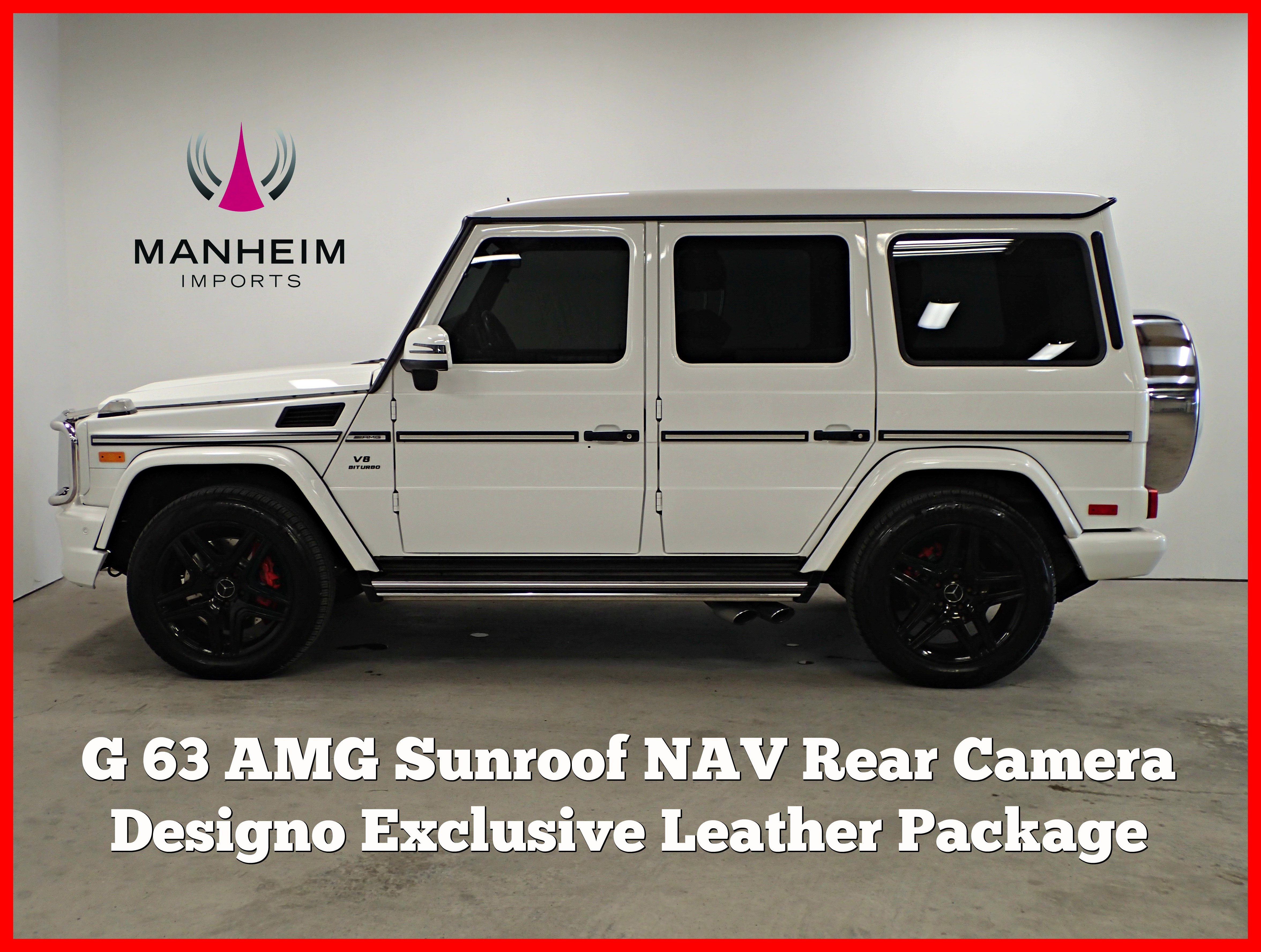 Pre-Owned 2015 Mercedes-Benz G 63 AMG® G 63 AMG®